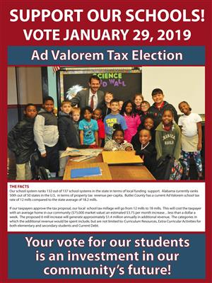 Ad Valorem Tax Election